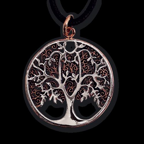 Anhänger Lebensbaum Weltenbaum Bronze