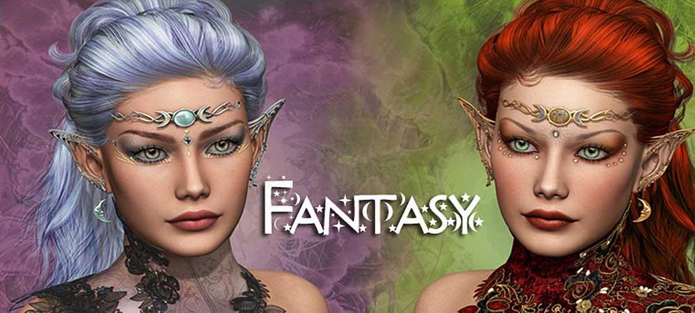Fantasy Schmuck Elfen und feen