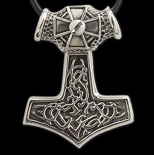 Anhänger Thors Hammer 925er Silber