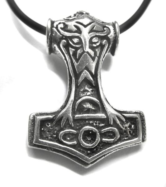 Anhänger Thors Hammer 925er Sterling Silber