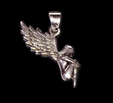 Anhänger Engel Silber