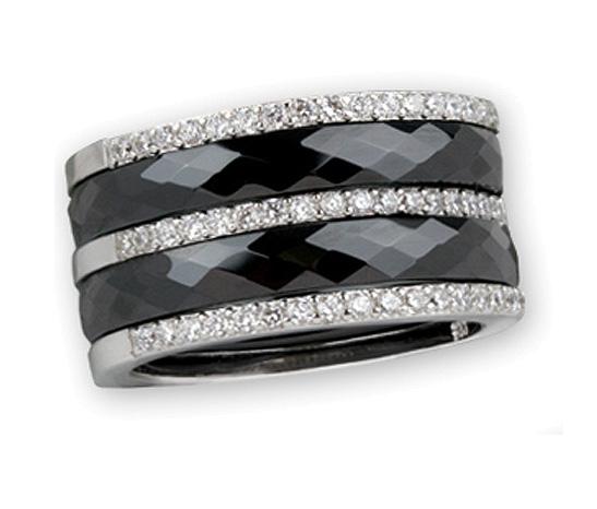 Keramik Ring schwarz