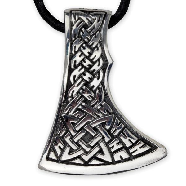 Keltische Axt 925er Sterling Silber