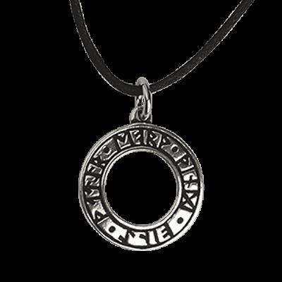 Anhänger Hexenrune 925er Sterling Silber