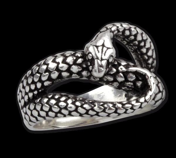 Ring Schlange aus 925er Sterling Silber