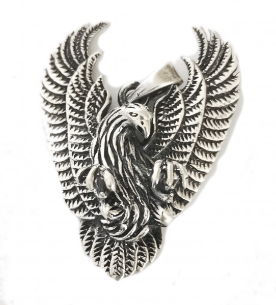 Anhänger Adler Western Eagle 925 Sterling Silber Höhe 4,2 cm