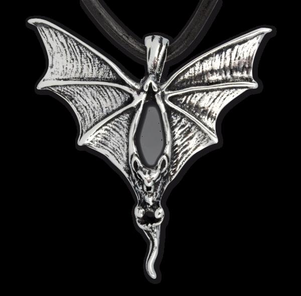 Anhänger Fledermaus Bat 925er Sterling Silber