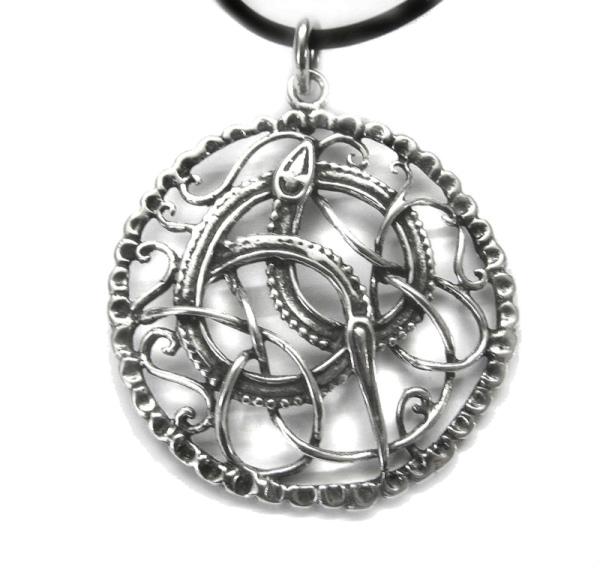 Keltische Schlange 925er Sterling Silber