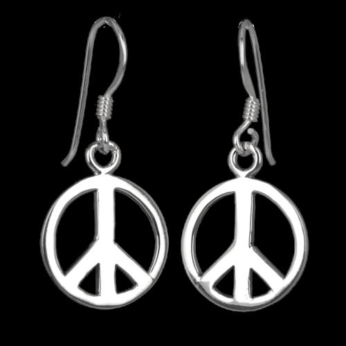 Ohrringe Ohrhänger Peace
