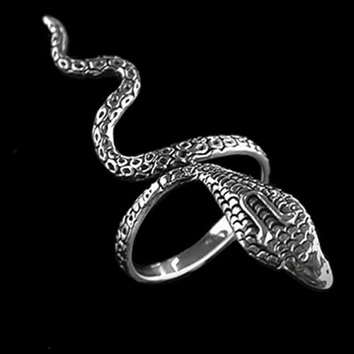 Schlangenring Snake aus 925er Silber Ringe