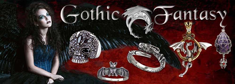 Gothic Schmuck und Fantasy