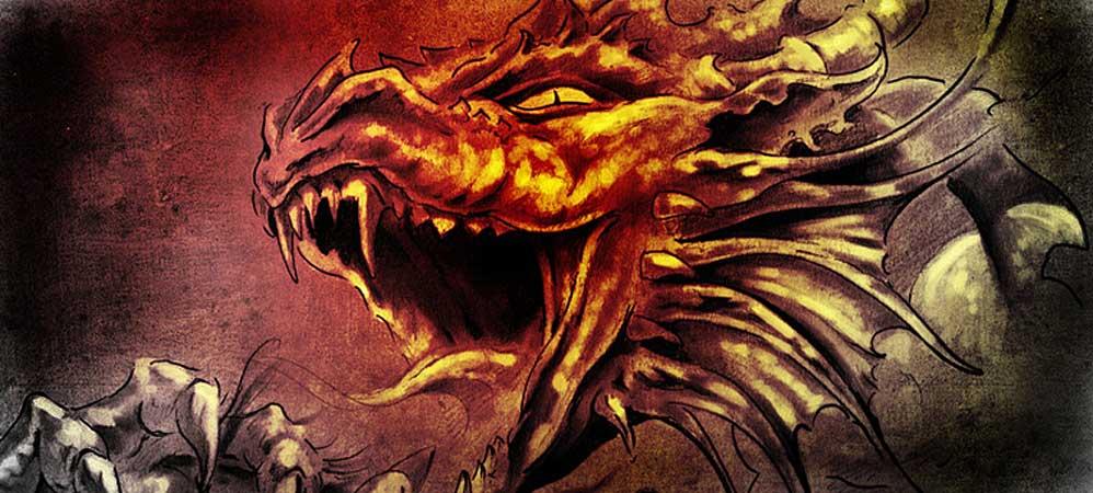 Drachenschmuck Fantasy
