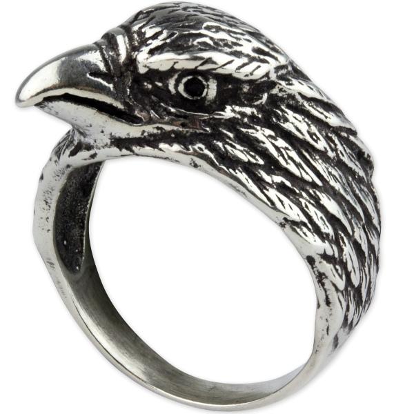 Silberring Adler aus 925er Sterling Silber