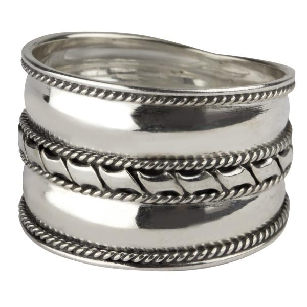 etNox Ring aus 925er Sterling Silber
