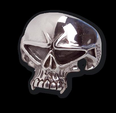 Ring Vampyr Skull 925er Sterling Silber