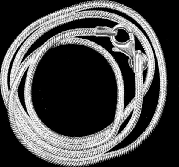 Schlangenkette 45cm 925er Sterling Silber