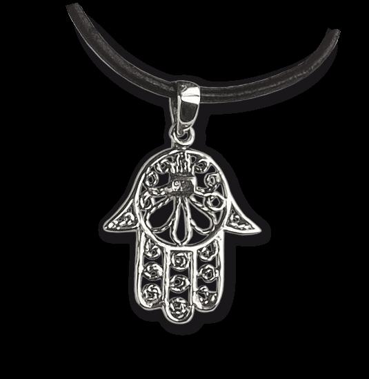 Hand der Fatima 925er Sterling Silber