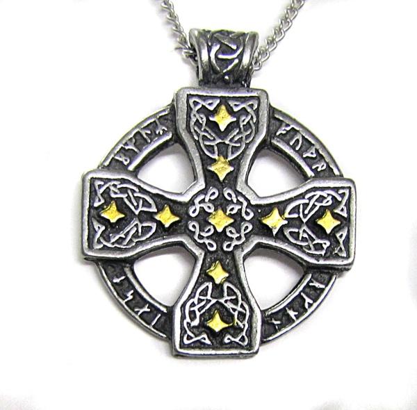 Amulett keltisches Runenkreuz