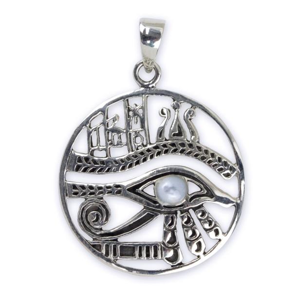 Auge des Ra Silberanhänger