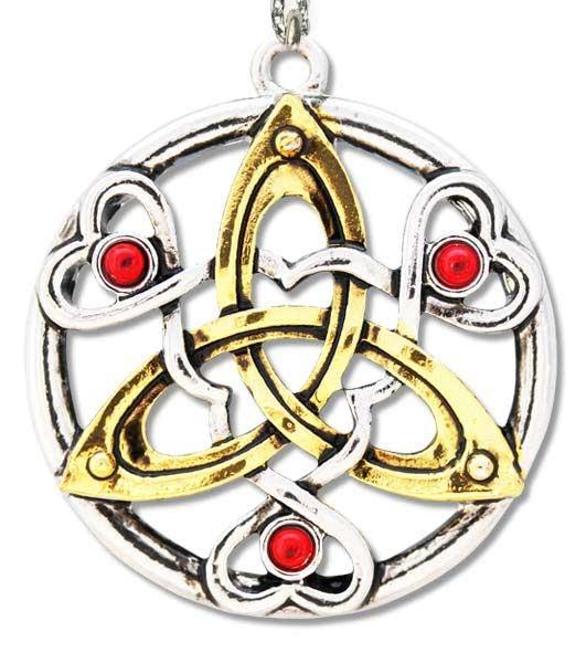 Amulett keltischer Knoten Talisman des Cu Chulainn