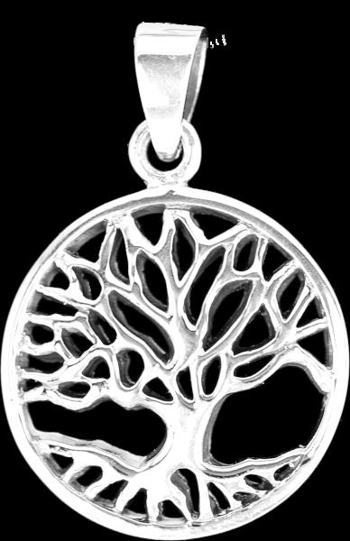 Anhänger Baum des Lebens aus 925er Sterling Silber