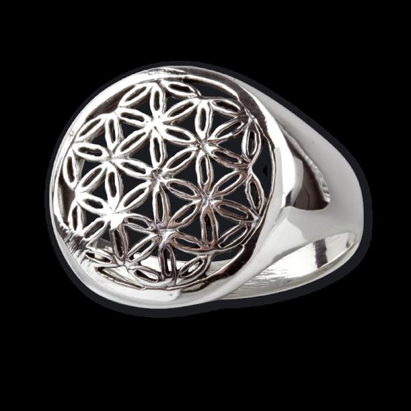 Ring Blume des Lebens 925er Sterling Silber