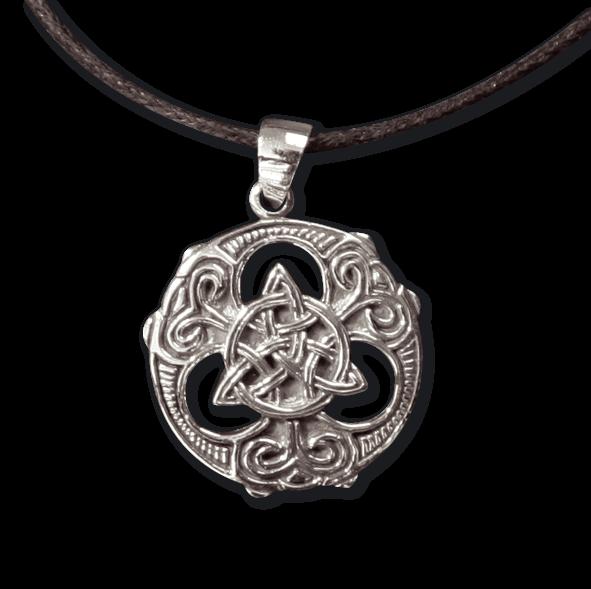 Amulett Celtic Knot Silber