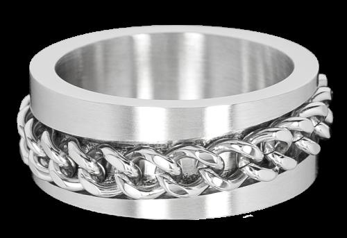 Ring Chain aus Edelstahl