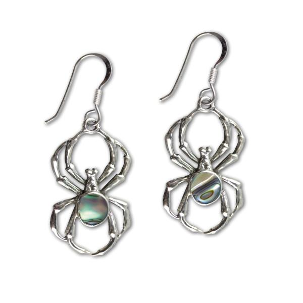 Ohrringe Spinne Spider Ohrhänger 925er Sterling Silber Schmuck