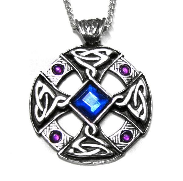 Keltisches Amulett Keltisches Kreuz Anh