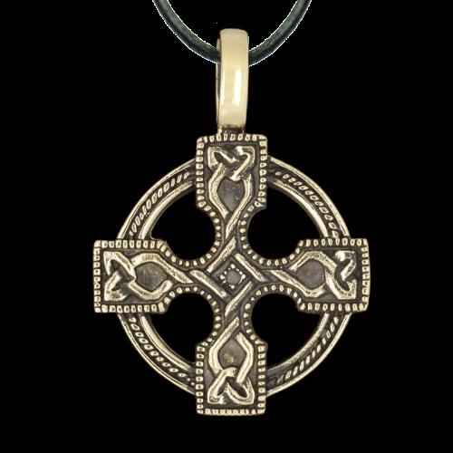 Keltisches Kreuz aus Bronze