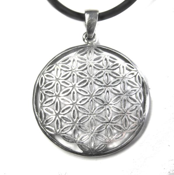 Blume des Lebens Lebensblume 925er Sterling Silber