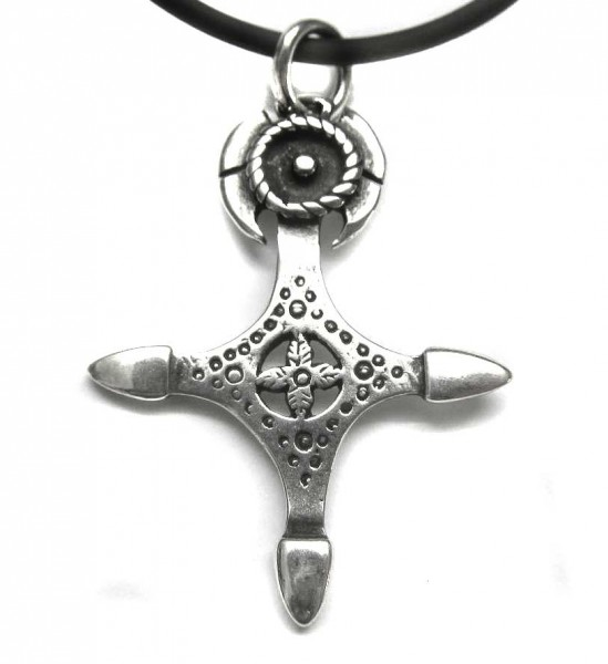 Tuareg Kreuz aus 925er Sterling Silber