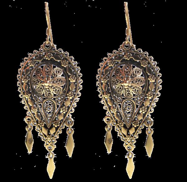 Ohrringe Oriental Dream Bronze