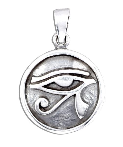 Amulett Auge des Ra Sonnenauge aus 925er Sterling Silber