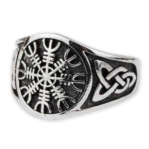 Eagershelm Ring aus 925er Sterling Silber