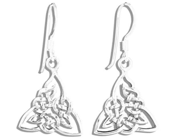Ohrhänger Keltischer Knoten aus 925er Sterling Silber