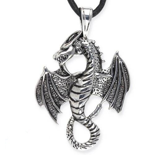 Anhänger Drache Big Dragon aus Edelstahl