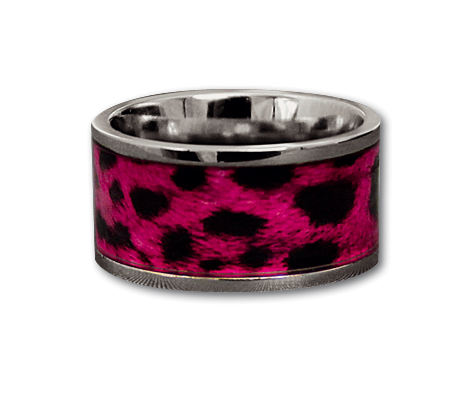 Ring Pink Leo