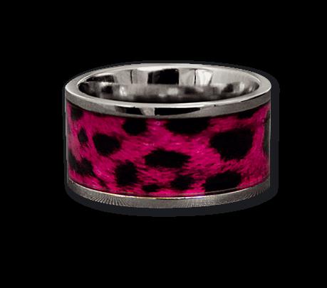 Ring Pink Leo