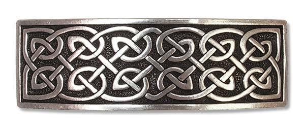 Keltische Haarspange aus Zinn
