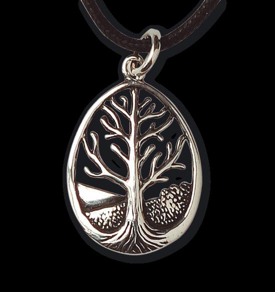 Lebensbaum 925er Sterling Silber