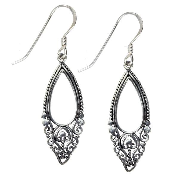 Ohrhänger Oriental Ornament 925er Silber
