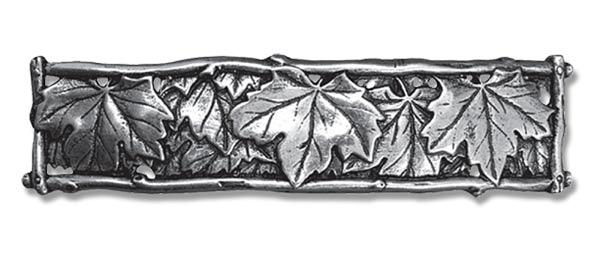 Haarspange Ahorn Blätter aus englischen Zinn
