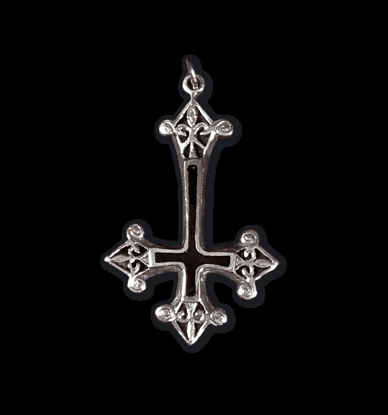Anhänger umgekehrtes Kreuz Inverted Cross