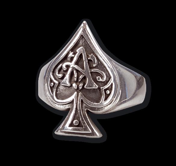 Ace of Spades aus 925er Sterling Silber