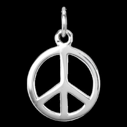 nhänger Peace 925er Sterling Silber