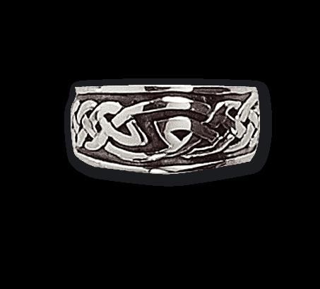Ring Keltischer Knoten Silber