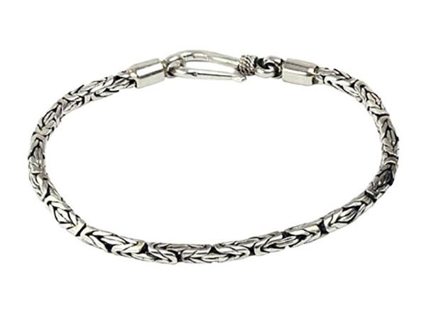 Silberarmband Königskette 925er Sterling Silber Länge 19cm