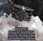 Schwarezr Keramikring